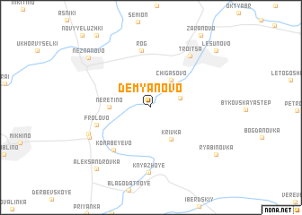 map of Dem\