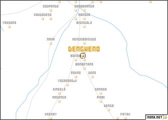 map of Dengwéno