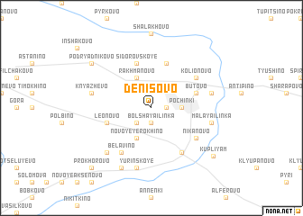 map of Denisovo