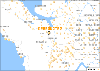 map of Depea Water