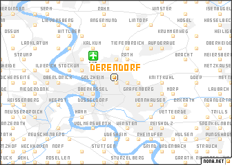 map of Derendorf