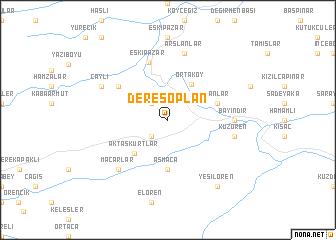 map of Deresoplan