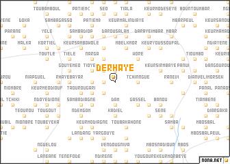 map of Derhaye