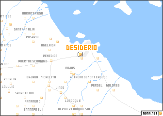 map of Desiderio