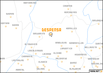 map of Despensa