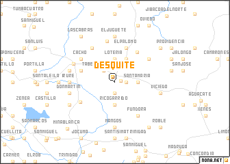 map of Desquite