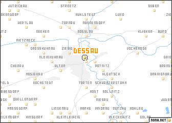Dessau Germany map nonanet