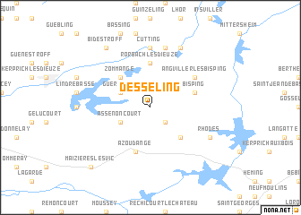map of Desseling