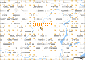 map of Dettendorf