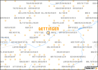 map of Dettingen