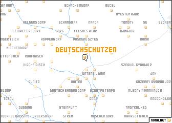 map of Deutschschützen