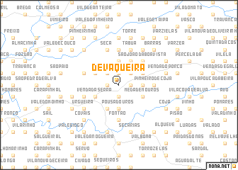 map of Devaqueira