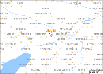 map of Deven
