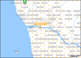 map of Devesas