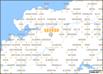 map of Devesa