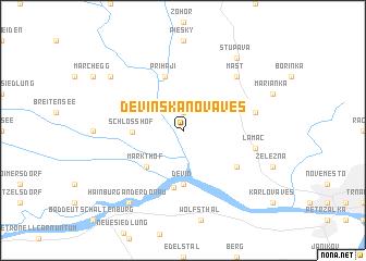map of Devínska Nová Ves