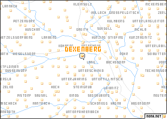 map of Dexenberg