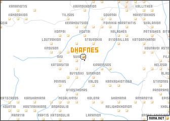 map of Dhafnés