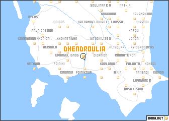 map of Dhendroúlia