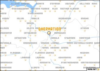 map of Dhermátion