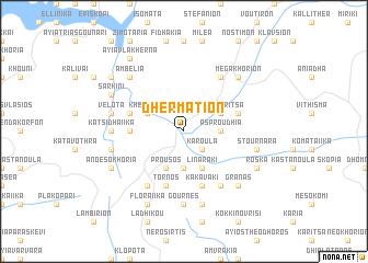 map of Dhermátion