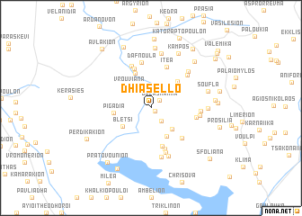 map of (( Dhiásello ))