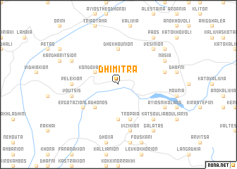 map of Dhímitra