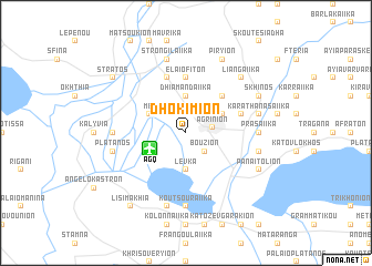 map of Dhokímion