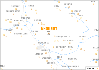 map of Dhoksat