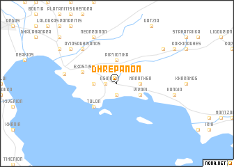 map of Dhrépanon