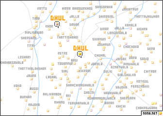 map of Dhul