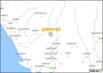 map of Dianaton
