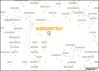 map of Diar Ouantoût