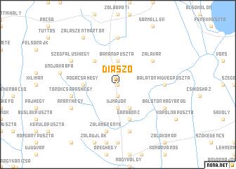 map of Diászó