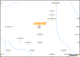 map of Dibamba