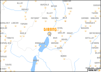 map of Dibang