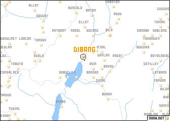 map of Dibang