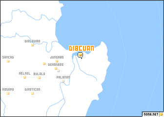 map of Dibcuan