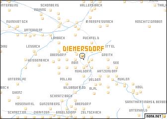 map of Diemersdorf