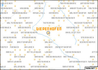 map of Diepenhofen