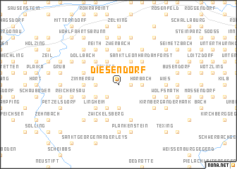 map of Diesendorf
