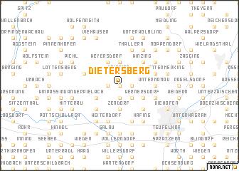 map of Dietersberg