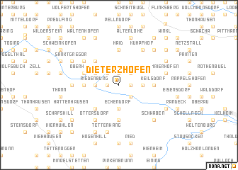 map of Dieterzhofen