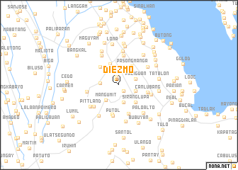 map of Diezmo