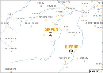 map of Diffun