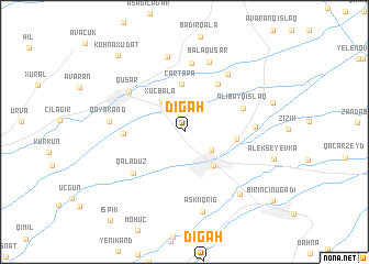 map of Digah