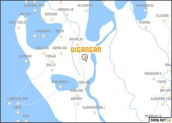 map of Digangan