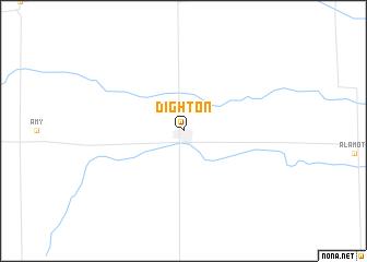 map of Dighton