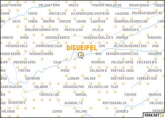 map of Digueifel