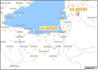 map of Dila-usan